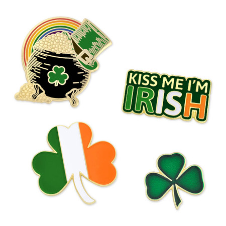 St. Patrick's 4-Pin Set