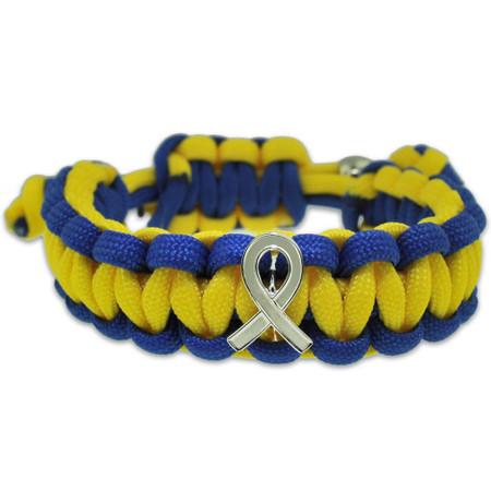 Down Syndrome Paracord Bracelet Front