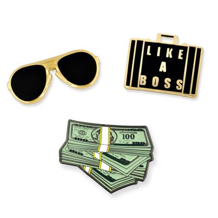 Like A Boss 3-Pin Set Main