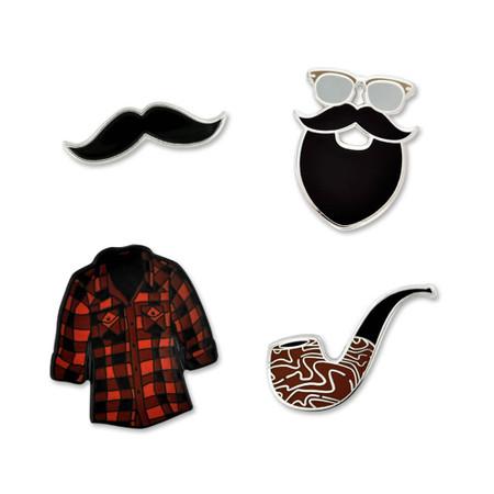Hipster 4-Pin Set