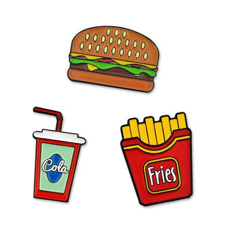Fast Food 3-Pin Set