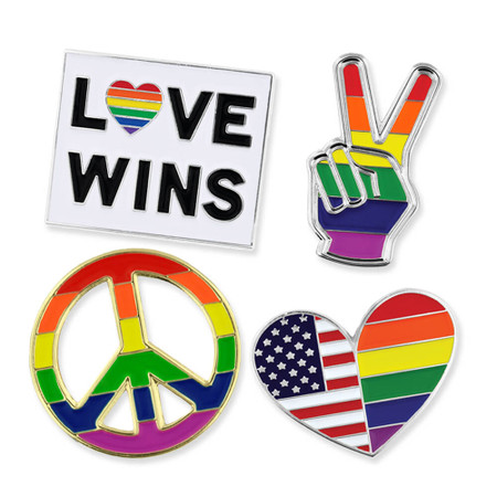 LGBT Pride 4-Pin Set Main