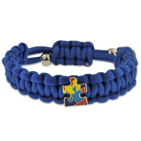 Autism Awareness Paracord Bracelet