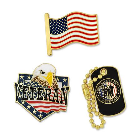 Veteran 3-Pin Set Front