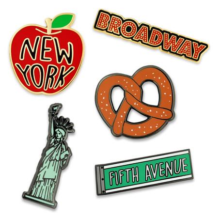 New York 5-Pin Set Main