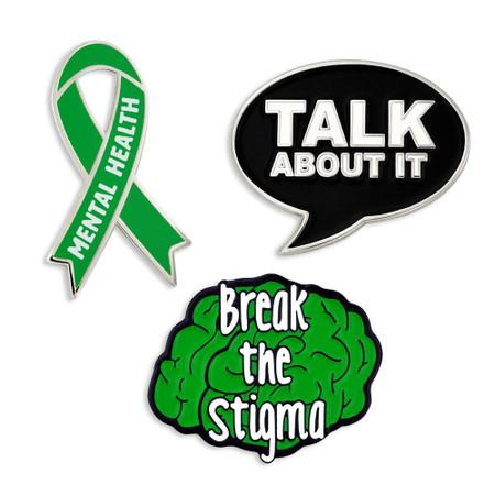 Mental Health Awareness 3-Pin Set Main