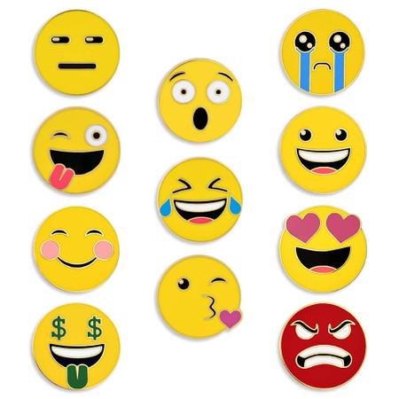 Emoji Mood 11-Pin Set