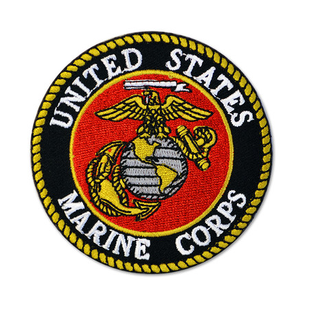 Officially Licensed Patch - U.S. Marine Corps Back