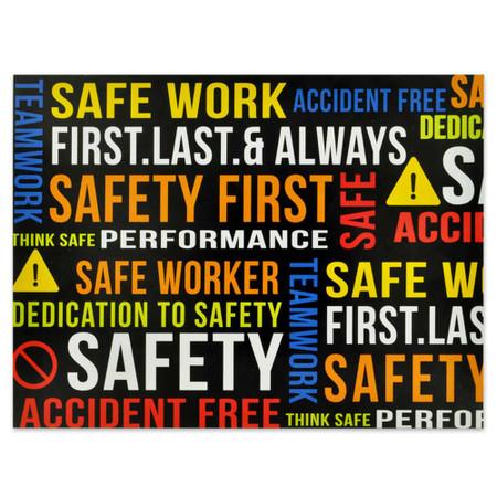 Safety Presentation Card Front