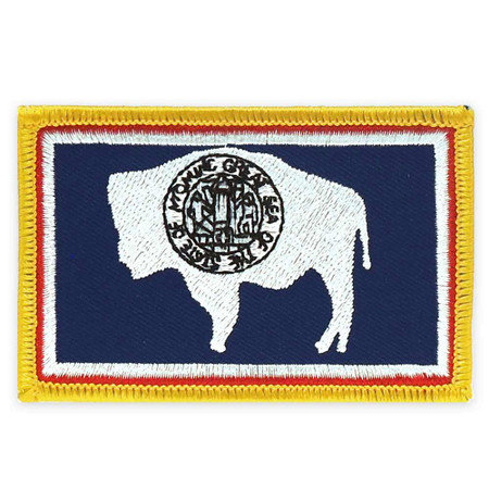 Patch - Wyoming State Flag