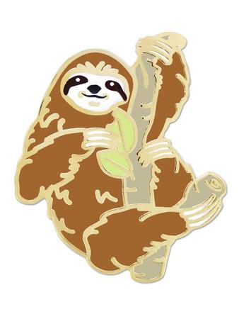 Sloth Pin Front