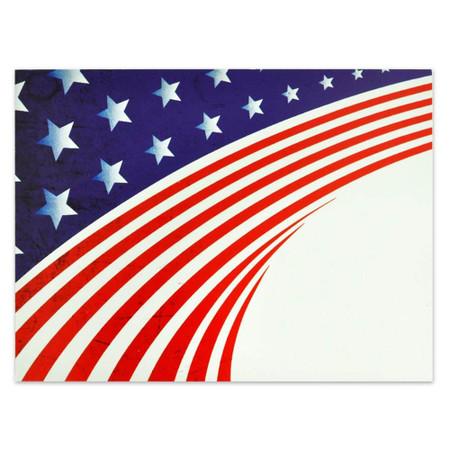 Patriotic Presentation Card Front