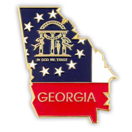 Georgia Pin Front