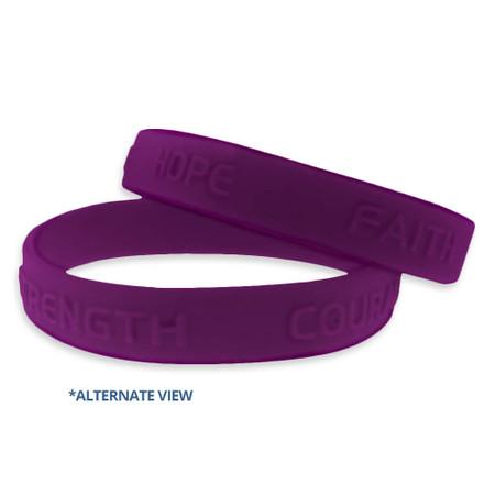 Purple Wristband