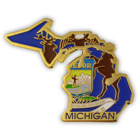 Michigan Flag State Front