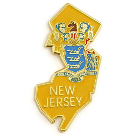 New Jersey Pin Front