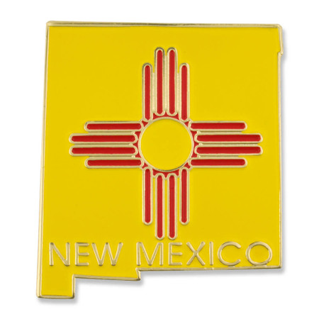 New Mexico Pin Front