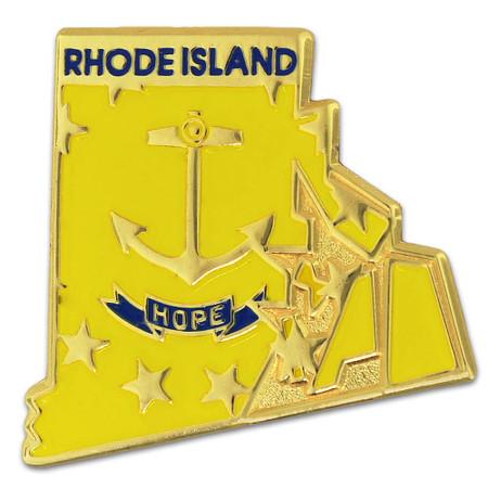 Rhode Island State Flag Shape