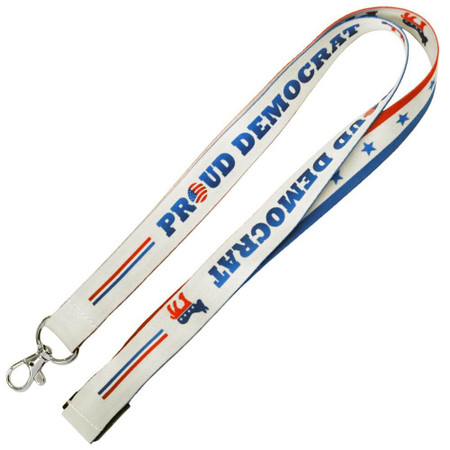 Democrat Lanyard Full