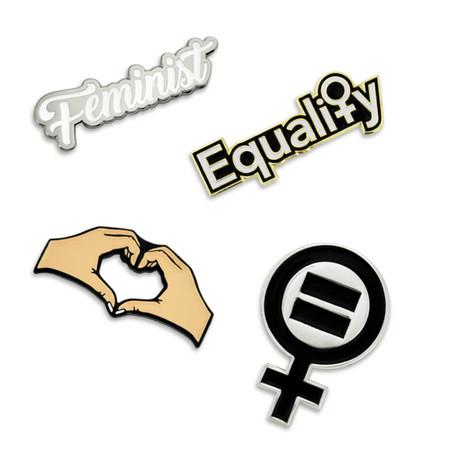 Women's Equality 4-Pin Set Main