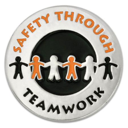 Safety Teamwork Pin