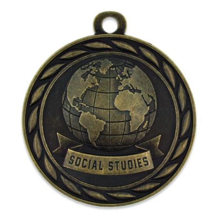 Social Studies Medal Front
