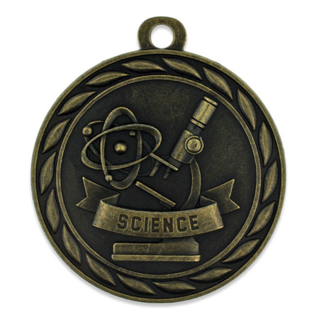 Science Medal Front