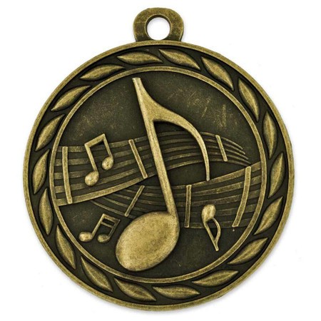 Music Medal Front