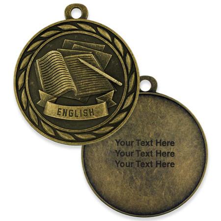 Engraved Antique Medal