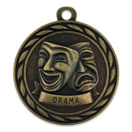 Drama Medal Front