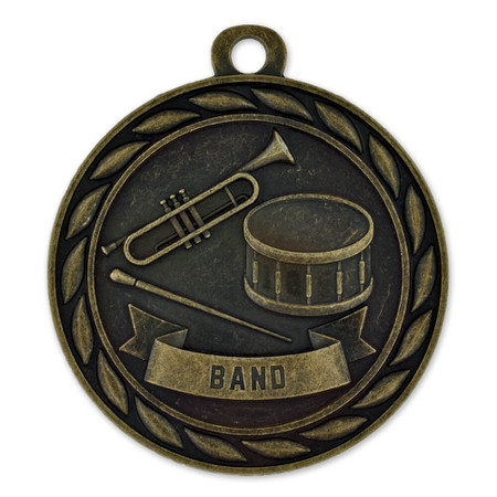 Band Medal Front