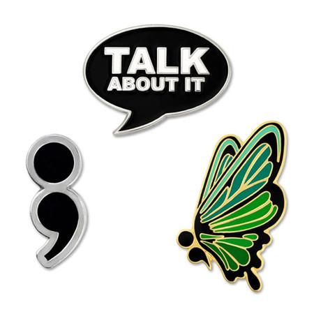 Suicide Prevention 3-Pin Set Main