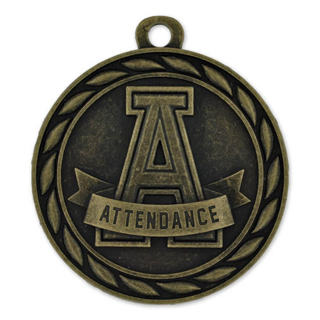 Attendance Medal Front