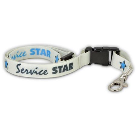 Service Star Lanyard