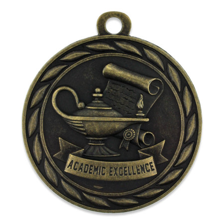 Academic Excellence Medal Front