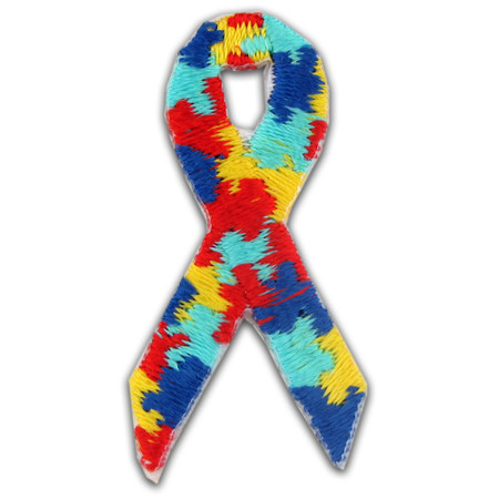 Applique - Autism Ribbon