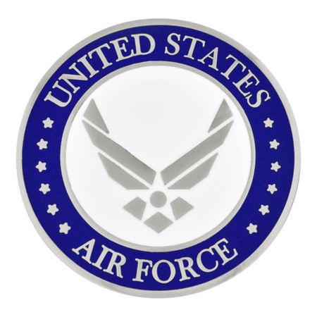 Air Force Coin - Engravable Front