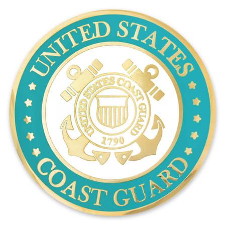 Coast Guard Coin - Engravable Front