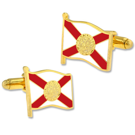 Florida Flag Cufflink Set