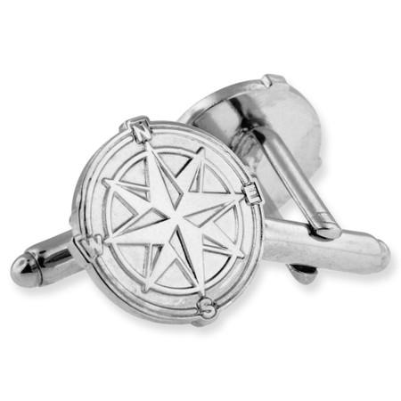 Compass North Star Cufflink Set Alt