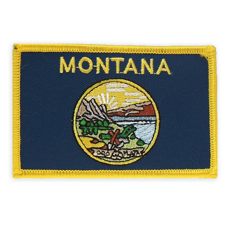 Patch - Montana State Flag