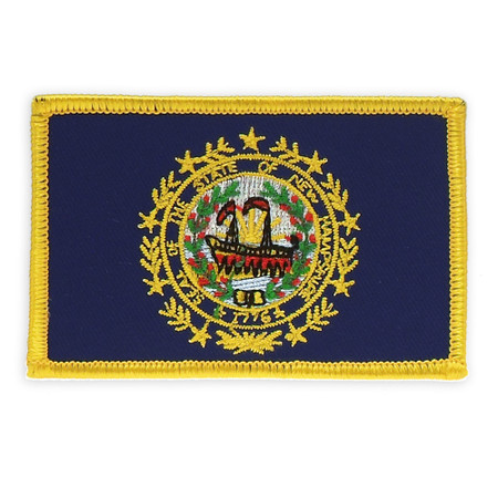 Patch - New Hampshire State Flag