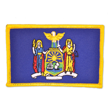 Patch - New York State Flag Front