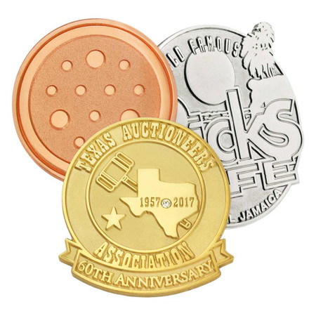 Custom Die Struck Pins