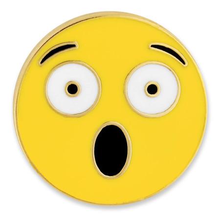 Surprised Emoji Pin Front