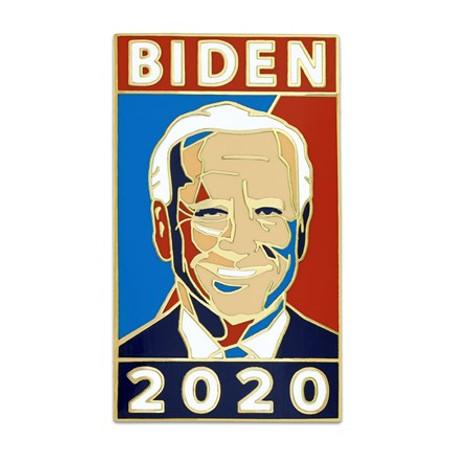 Biden 2020 Lapel Pin Front