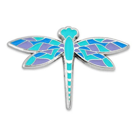 Dragonfly Lapel Pin Front