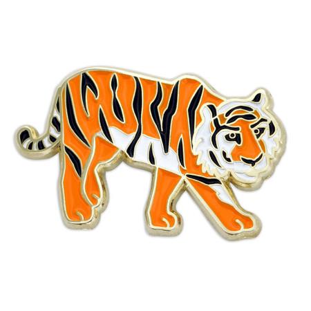 Tiger Lapel Pin Front