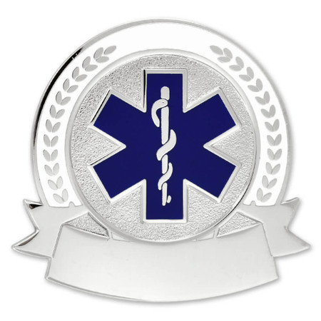 Engravable EMS Pin Front