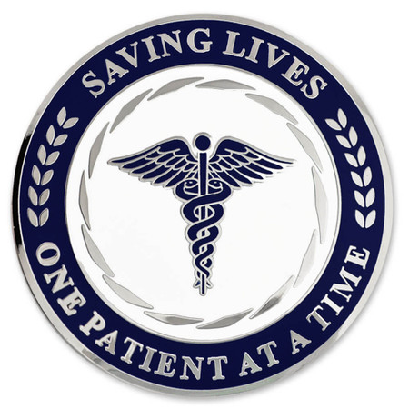 Saving Lives Coin Engravable Front